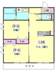 ロイズ ブルー 102号室