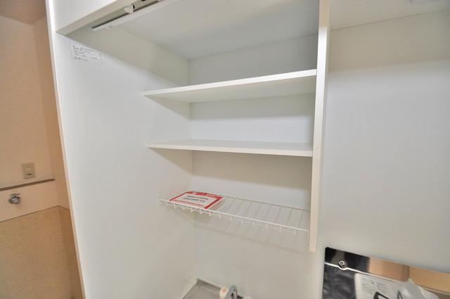 サンビレッジ・デグチⅡ コンパクトながら収納スペースもちゃんとありますよ。
