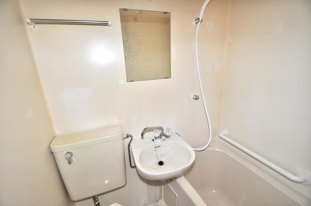 シティハイム南巽 小さいですが洗面台ありますよ