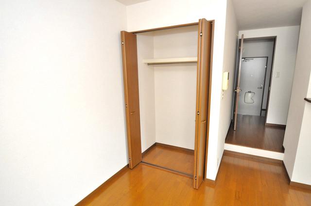 アンプルールフェールヴァンクール もちろん収納スペースも確保。おかげでお部屋の中がスッキリ。
