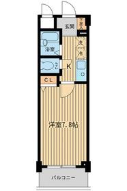 大崎駅 バス11分「不動前駅入口バス停」徒歩7分1階Fの間取り画像
