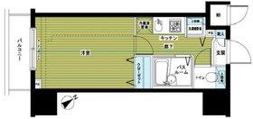 トーシンフェニックス新横濱イクシール6階Fの間取り画像