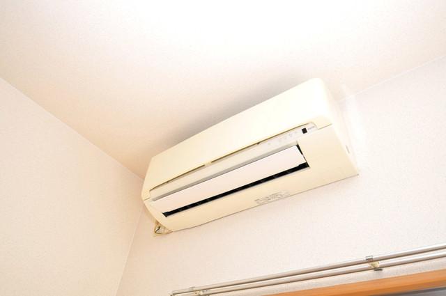 リバーサイド金岡六番館 エアコンがあるのはうれしいですね。ちょっぴり得した気分。