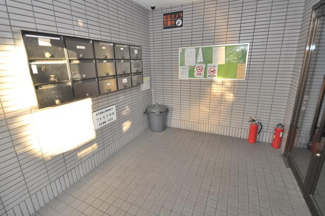 フォルテ木田 エントランス内には各部屋毎のメールボックスがあります。