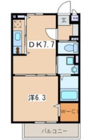 アートスペース横浜3階Fの間取り画像