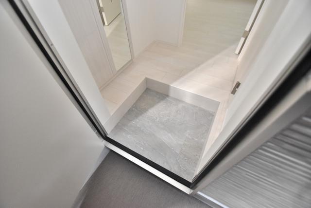 ハーモニーテラス新今里Ⅱ 素敵な玄関は毎朝あなたを元気に送りだしてくれますよ。