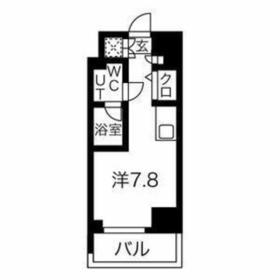 スパシエロッサ横浜吉野町4階Fの間取り画像