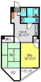 ソレイユ片倉3階Fの間取り画像