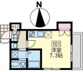 笹塚駅 徒歩5分1階Fの間取り画像