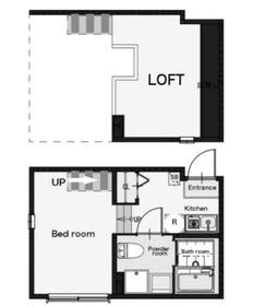 ラ・シエル2階Fの間取り画像