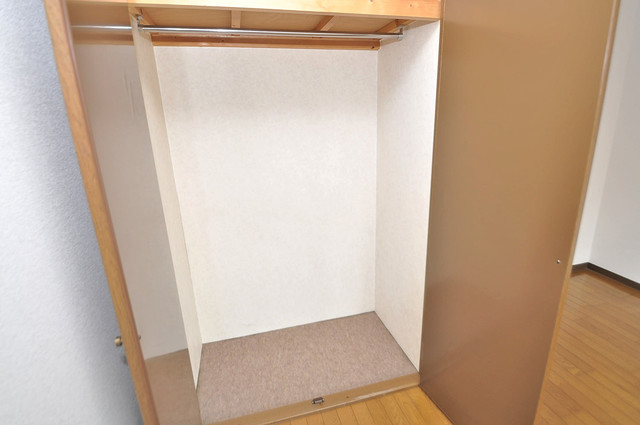 カーサAY もちろん収納スペースも確保。いたれりつくせりのお部屋です。