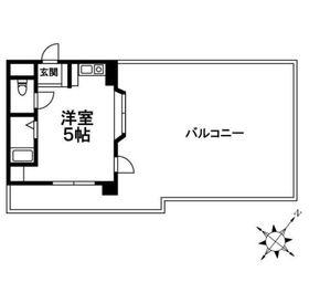 モリモトビル3階Fの間取り画像