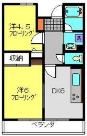 第9エルム大倉山1階Fの間取り画像