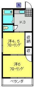 元住吉駅 徒歩10分1階Fの間取り画像