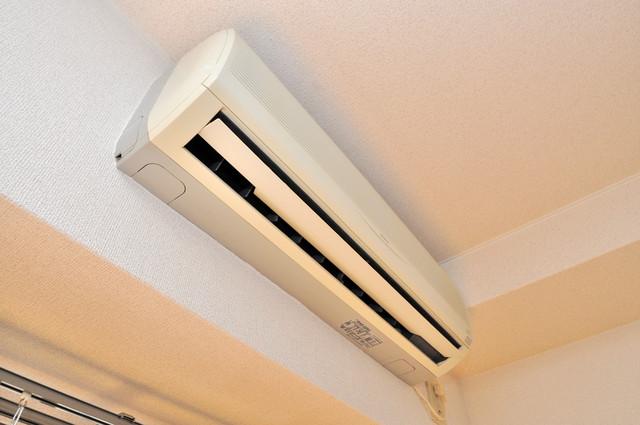プリムローズHY1 エアコンが最初からついているなんて、本当に助かりますね。