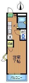 ラ・ジュネス2階Fの間取り画像
