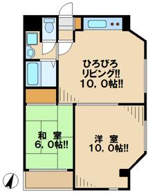 シャングリラ3階Fの間取り画像