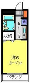 日吉駅 徒歩3分3階Fの間取り画像