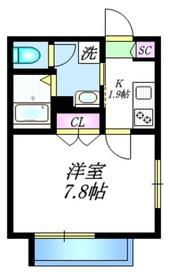 CONFORT1階Fの間取り画像