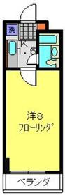 NAKANIWAYAビルディング2階Fの間取り画像