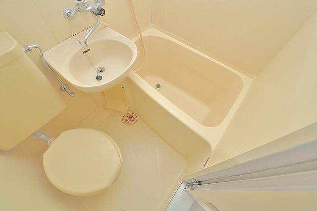 センチュリーシティⅡ お風呂・トイレが一緒なのでお部屋が広く使えますね。
