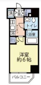 グランヴァン横濱反町3階Fの間取り画像