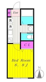 生田駅 徒歩13分2階Fの間取り画像