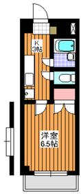 クラブコート和光3階Fの間取り画像