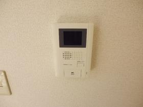 TVモニタ付きのインターホンです。