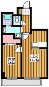 成増駅 徒歩12分7階Fの間取り画像
