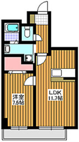 地下鉄赤塚駅 徒歩8分7階Fの間取り画像