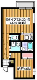 下赤塚駅 徒歩27分3階Fの間取り画像