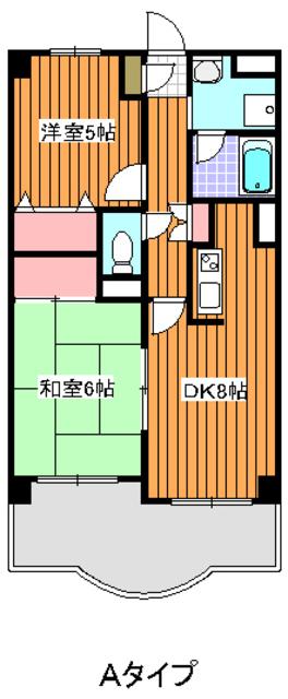 成増駅 徒歩10分間取図