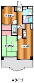 地下鉄成増駅 徒歩12分2階Fの間取り画像