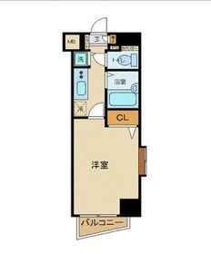 トーシンフェニックス吉祥寺クアトロ3階Fの間取り画像