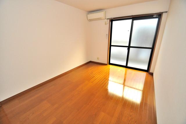エスティームⅠ番館 朝には心地よい光が差し込む、このお部屋でお休みください。