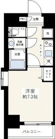 グランド・ガーラ新横浜North11階Fの間取り画像