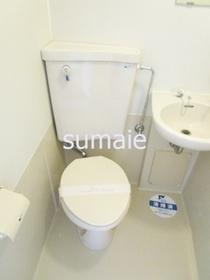 トイレです★