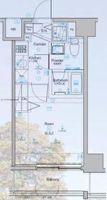 シーネクス横濱阪東橋Ⅱ10階Fの間取り画像