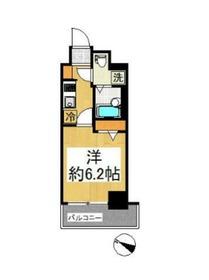 Le'a横濱中央2階Fの間取り画像