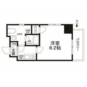 エスペランサK錦糸町7階Fの間取り画像