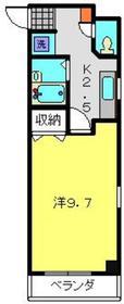 ニューカースル伊藤5階Fの間取り画像