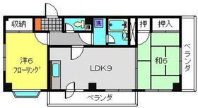 シャンス東寺尾183階Fの間取り画像