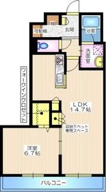 湘南深沢駅 徒歩5分3階Fの間取り画像