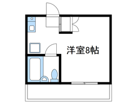 トーシンコーポ相模台2階Fの間取り画像