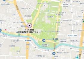 赤羽橋駅 徒歩3分案内図