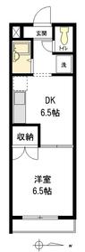 SHELM-i2階Fの間取り画像