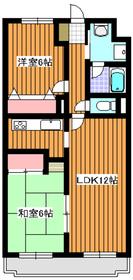 ハイランド・ウエスト3階Fの間取り画像
