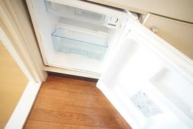 ミニ冷蔵庫付