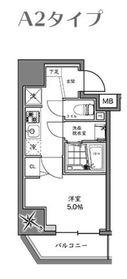 ハーモニーレジデンス横浜大通り公園6階Fの間取り画像